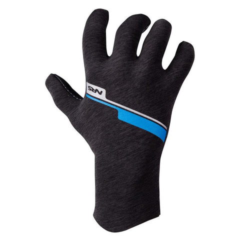 NRS Mens Hydroskin Gloves Gray Heather