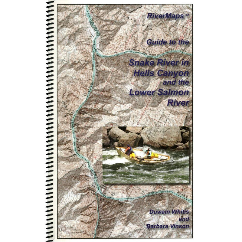 RiverMaps Hell's Canyon & Lower Salmon Guidebook