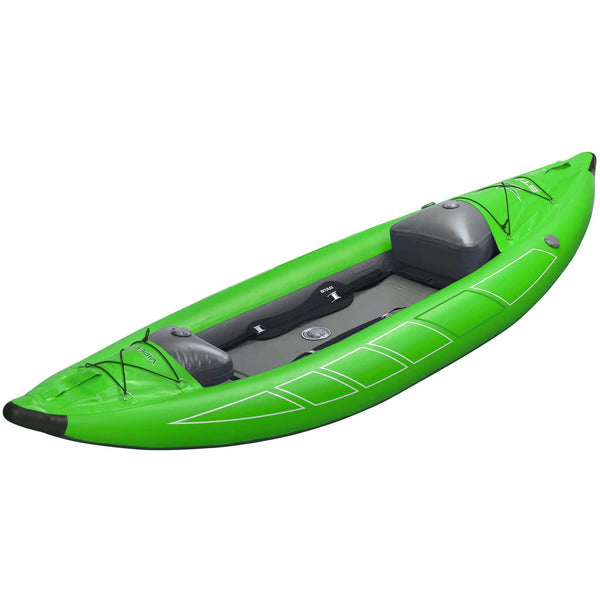 DEMO 2020 NRS Viper XL Whitewater Inflatable Kayak Lime