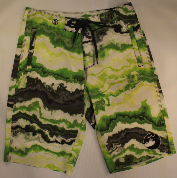 Candy Grind 301 Hala Green Short Closeout