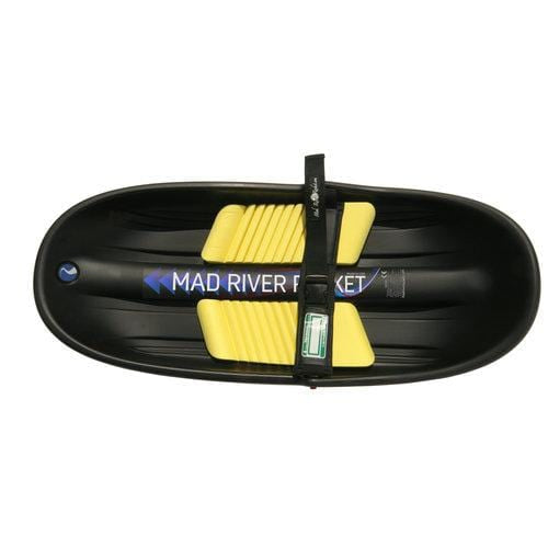 Mad River Rocket Sled BLACK, YELLOW