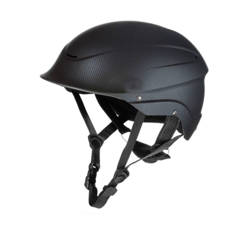 Carbon Black Shred Ready Standard Halfcut Whitewater Helmet