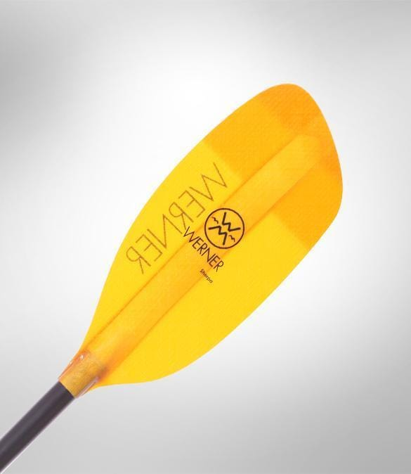 Werner Sherpa 2-piece Breakdown Straight Shaft Kayak Paddle