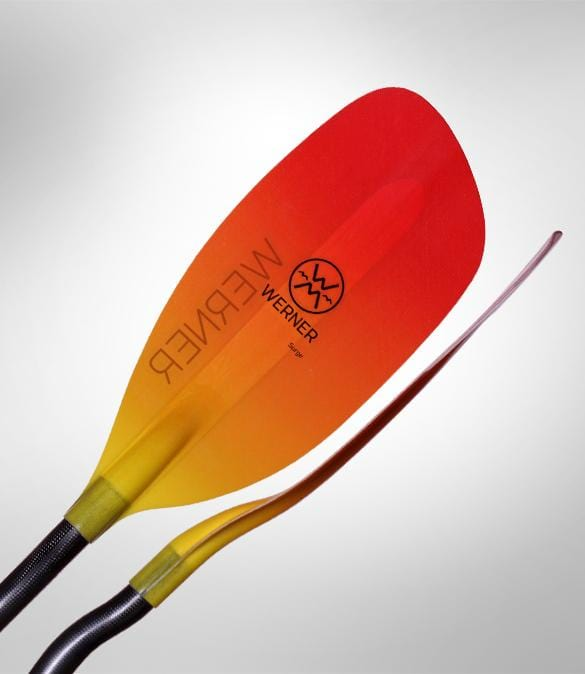 Werner Surge 2-piece Breakdown Straight Shaft Kayak Paddle