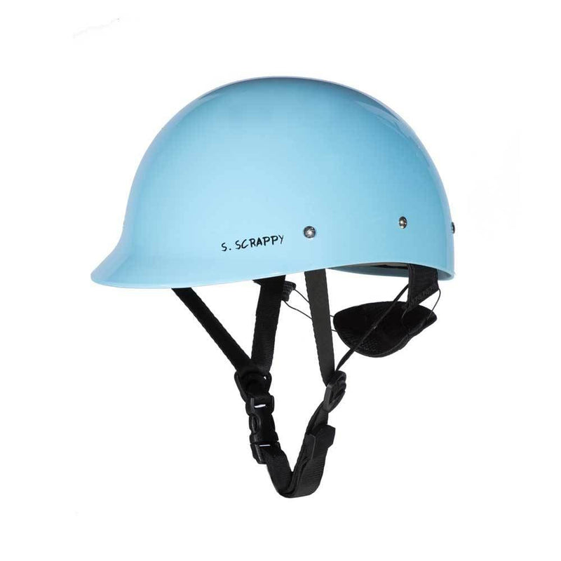 Cornflower Blue Shred Ready Super Scrappy Whitewater Helmet