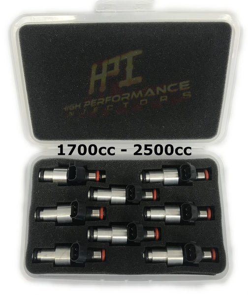 Injectors: Set of 8 LQ4 LQ9 4.8 5.3 6.0 Delphi Shorties High Impedance HPI Injectors