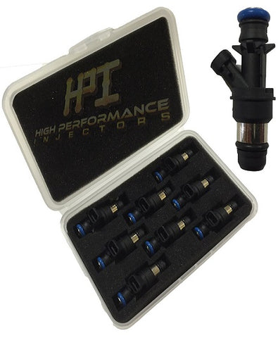 Fuel Injectors: Set of 8 LQ4 LQ9 4.8 5.3 6.0 Delphi Shorties High Impedance HPI Injectors