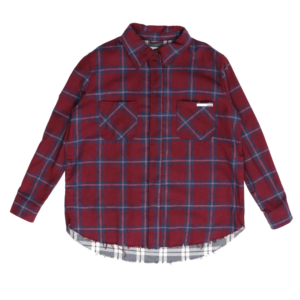 CRACK- Plaid Jacket