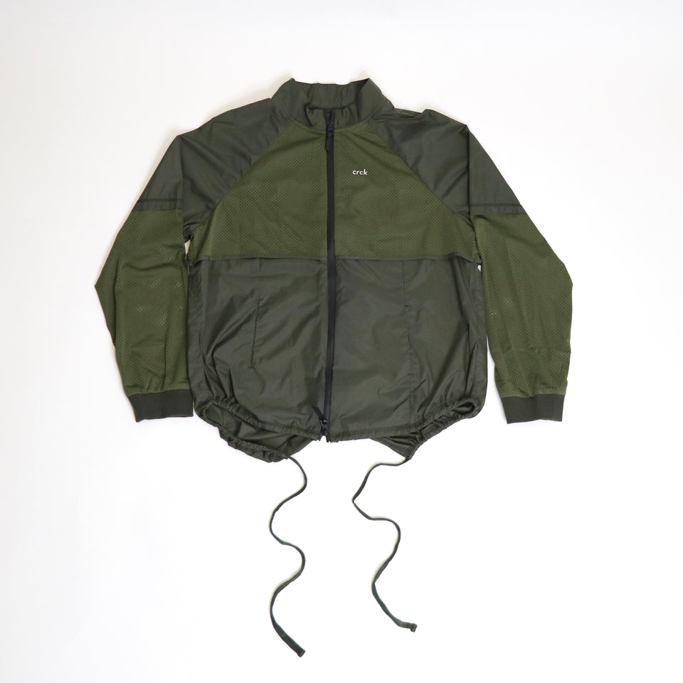CRCK- Windbreaker (olive green)