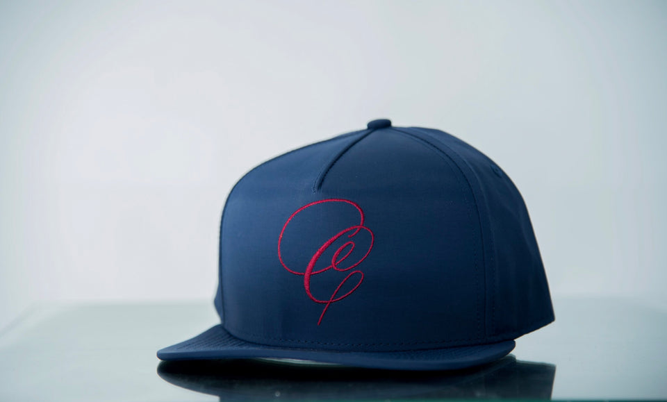 """C"" Crack Football (Navy/Red)"