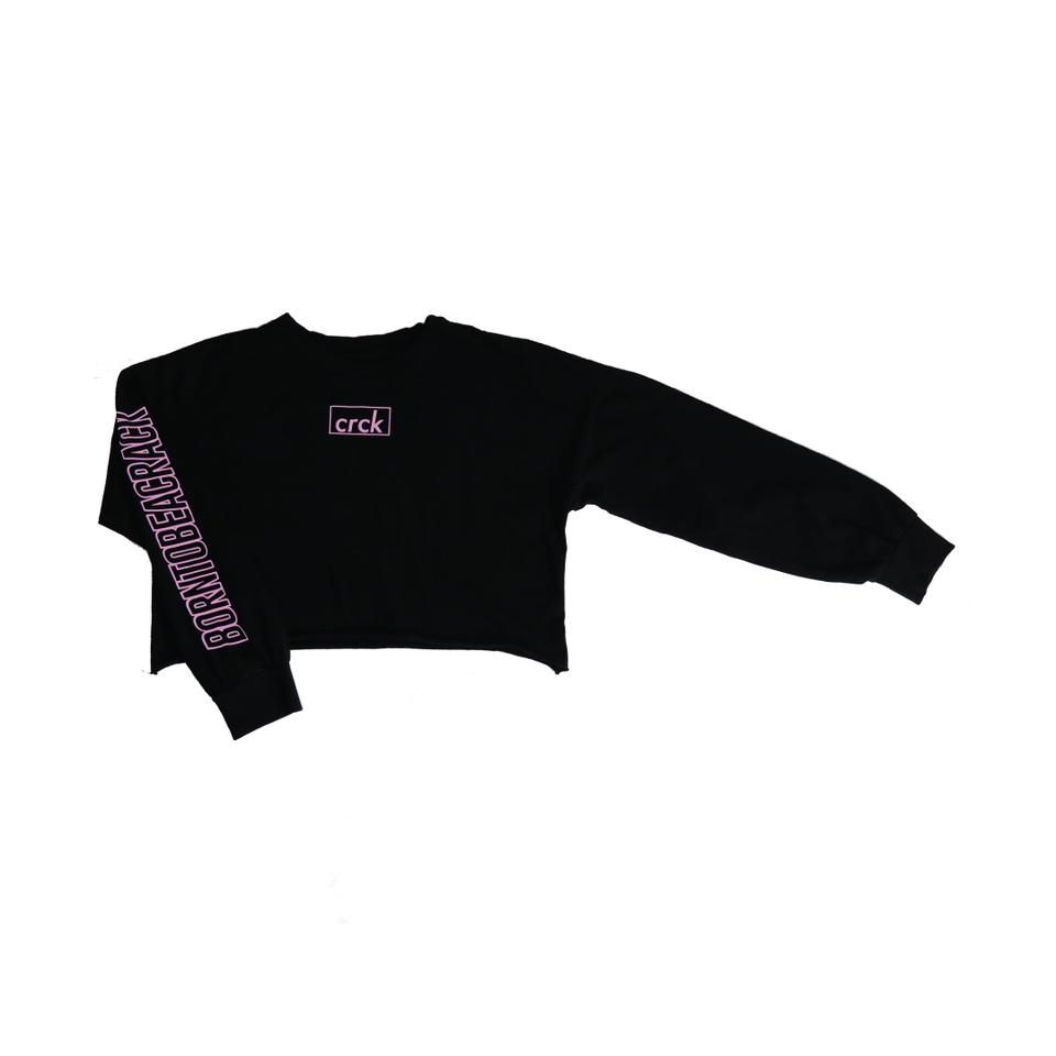 CRCK-Long sleeve crop top
