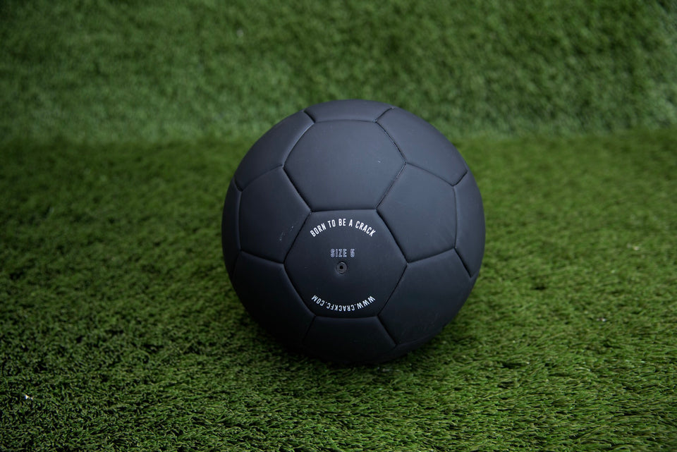 Crack Soccer Ball-Matte Black