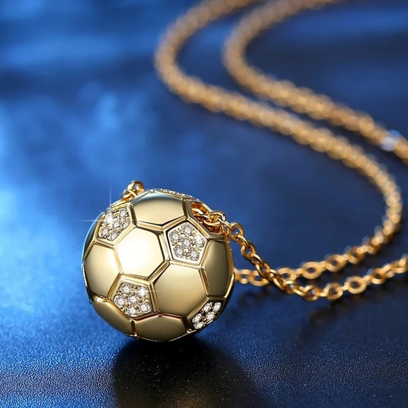 Football Pendant (gold)