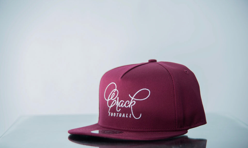 Crack Football (Burgundy)