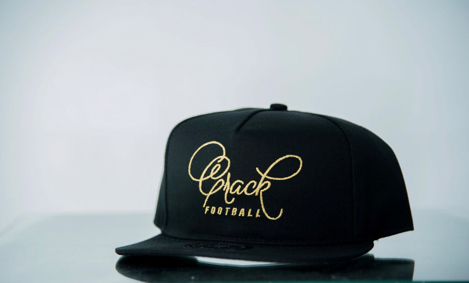 Crack Football (Black/Gold)