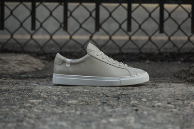 Original Low Top in Concrete Grey Micro-Leather
