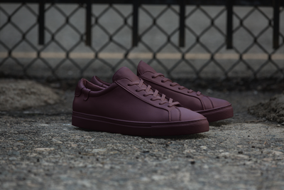 Original Low Top in Merlot Tonal