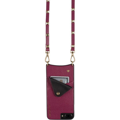 Bandolier SARAH Merlot 8+ / 7+ / 6+  for iPhone