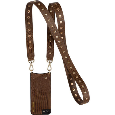 Bandolier BAILEY Brown 8+ / 7+ / 6+  for iPhone