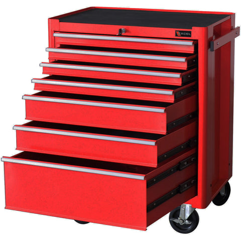 rolling tool boxes excel 7drawer rolling metal tool box bottom box
