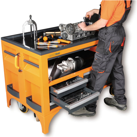 beta tools 5 drawer maxitank rolling tool storage workbench c30s rolling tool cart with