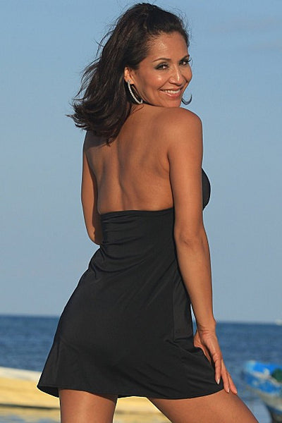 SLIMsational Swim Dress - Porcupine Lagoon LLC -bikini