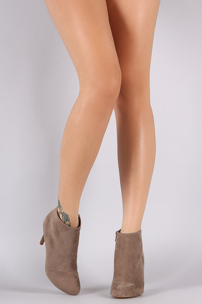 Liliana Plain Almond Toe Stiletto Heeled Booties - Porcupine Lagoon LLC -Shoes, Booties