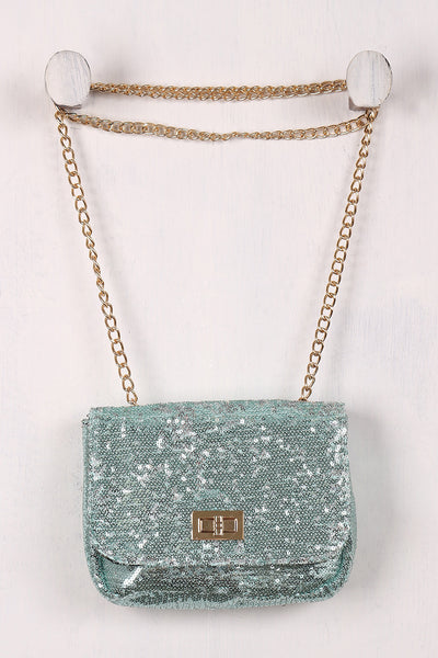 Shimmery Sequin Crossbody Mini Bag - Porcupine Lagoon LLC -Accessories, Bags