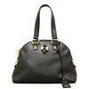 Yves Saint Laurent YSL Muse Medium Black Leather Handbag - Porcupine Lagoon LLC -Designer Bag