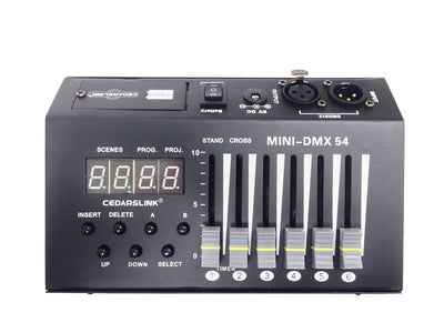 LK-MX54 54 Channel Professional Mini DMX Controller