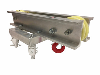 LK-P2 Ground Support Top Section for Box Truss Chain Hoist