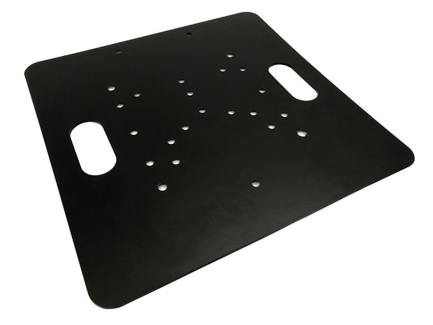 "LK-5050 Black 20""x20"" Base Plate For Square, Triangle, or Linear Lighting Truss"