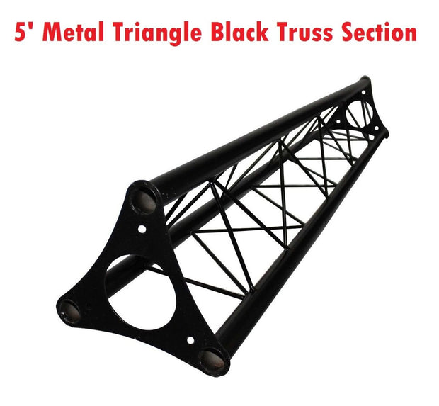 4.92' (1.5M) Wide Triangular Trussing Mobile DJ Lighting Bolt Truss System Truss