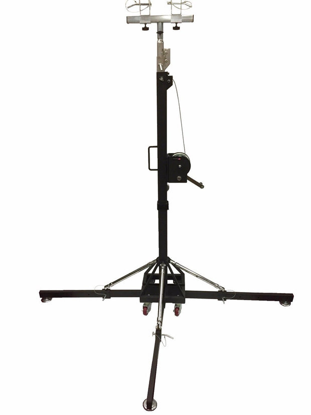 BIG-BOY 17Ft Heavy Duty Tower Lifter Crank Lighting DJ Concert Stand W/Outriggers