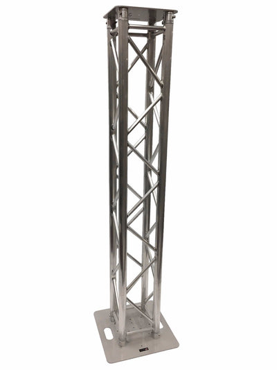 2 Meter 6.56 Ft Truss Aluminum DJ Lighting Tower Square Trussing Totem With Top