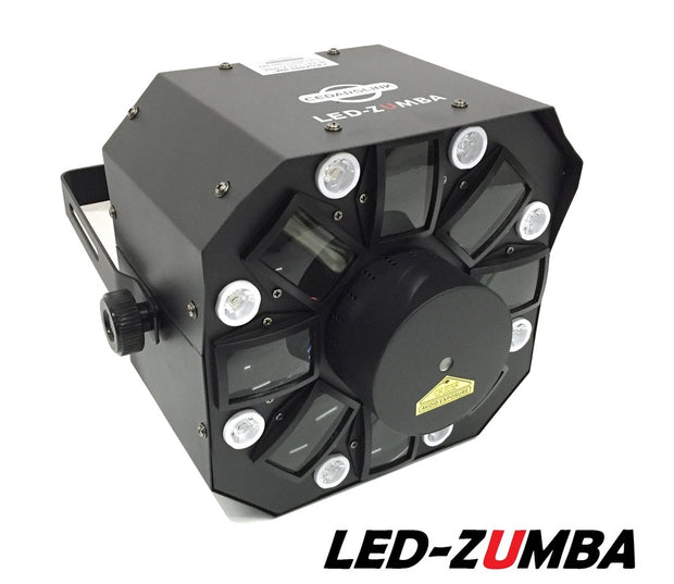 LED-ZUMBA Three In One Laser LED Effect Light