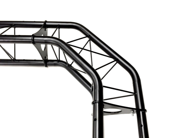 black truss arch kit 8 25 ft  height mobile portable dj