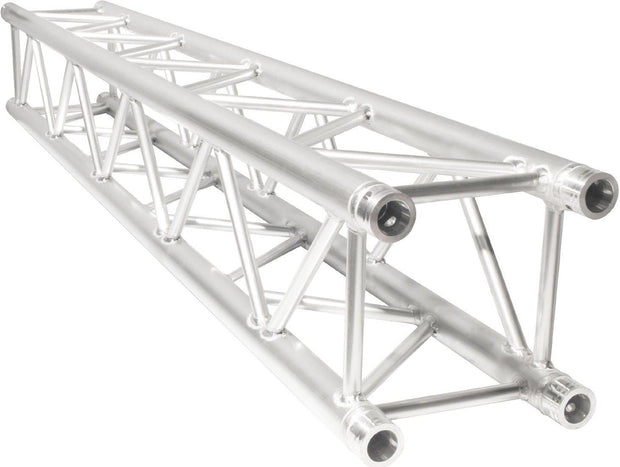 Two 14' Crank Up Stands With 6.56' 2 Meter Square Aluminum Truss Segment Package