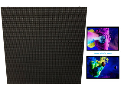 LK-P500 LED RGB Video Screen panels 0.5mX0.5m 3.91mm. (8 pack)