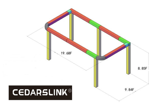 19.68 ft. x 9.84 ft. x 8.85 ft. Exhibition Module Trade show Booth Black Box Truss Display System Package Regular price