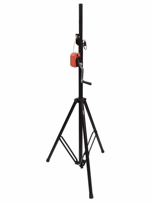 LK-T15 DJ Pro Lighting 10 Foot Crank Light Stand & Square Truss T-Bar Adapter