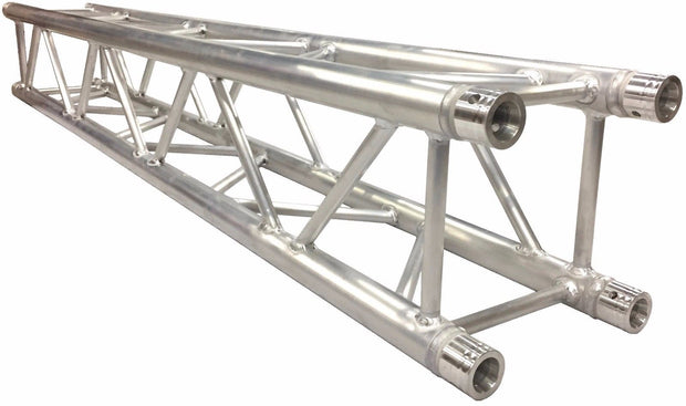 Two 17' Crank Up Stands With Three 6.56' Square Aluminum Truss Segments Package