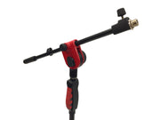 LK-2103R Red Professional Microphone Stand With Easy Height Quick Adjustment Handle