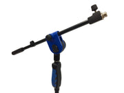 LK-2103B Blue Professional Microphone Stand With Easy Height Quick Adjustment Handle