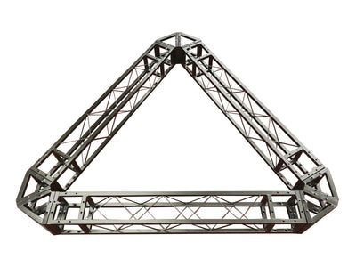 Industrial Grade 6.4ft Triangular Truss Shape, Three-Sided Lighting Truss, With Corners