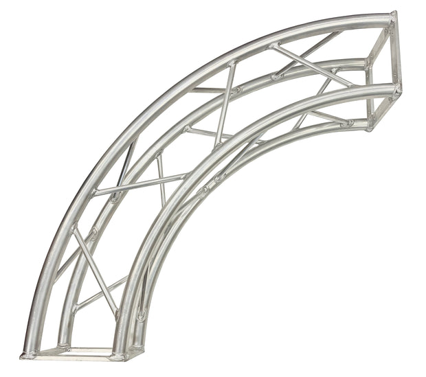 "STA-C1.5 29"" Bolt Arch Corner For DJ Light Stand 8""X8"" Square Trussing With 1.25"" Tubing"