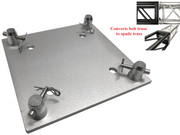 "12""x12"" Base Plate/Top For 290mm x 290mm Trussing/Converts Spade Truss to Bolt Trussing"