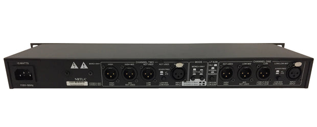 CE-234XL 2/3/4 Way Professional Crossover