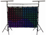 LED-176 176 pcs. RGB LED Curtain 2 Meters x 3 Meters With LK-X10 Lighting Truss Combo