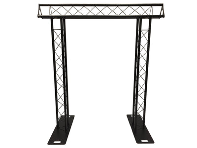 BLACK TRUSS ARCH KIT 7.5FT Height Mobile Portable DJ Lighting System Metal Arch